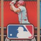 2010 Topps Logoman HTA #3 Mike Schmidt Phillies