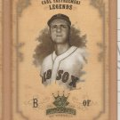 2004 Donruss Diamond Kings Legend SP Carl Yastrzemski Red Sox