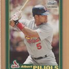 2006 Topps HTA Rookie of the Week #6 Albert Pujols Cardinals