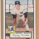 2006 Topps HTA Rookie of the Week #25 Mickey Mantle Yankees