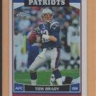 2006 Topps Chrome Refractor Tom Brady Patriots