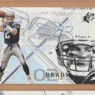 2002 Upper Deck SPX #6 Tom Brady Patriots