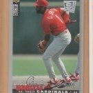 1995 UD Collectors Choice SE Silver Signature Ozzie Smith Cardinals