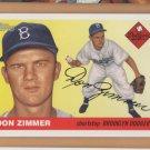 2005 Topps Dem Bums Reprints #DB-DZ Don Zimmer Brooklyn Dodgers