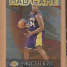 2001-02 Topps Chrome Mad Game Shaquille O'Neal Lakers