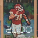 1998 Topps Generation 2000 Tony Gonzalez Chiefs Falcons