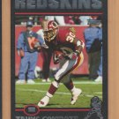2004 Topps Black Border Trung Canidate Redskins /150