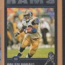 2004 Topps Black Border Arlen Harris Rams /150