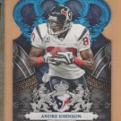2010 Crown Royale Blue Die Cut Andre Johnson Texans /100