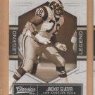 2010 Donruss Classics Legends SP Jackie Slater Rams /999