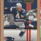 2004 Playoff Honors Prime Signatures Adam Vinatieri Patriots /999