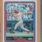 2005 Topps Chrome Refractor Jason Michaels Phillies