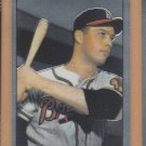 2001 Bowman Chrome Rookie Reprints Eddie Mathews Braves