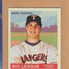 2007 Upper Deck Goudey Red Back Mark Teixeira Rangers