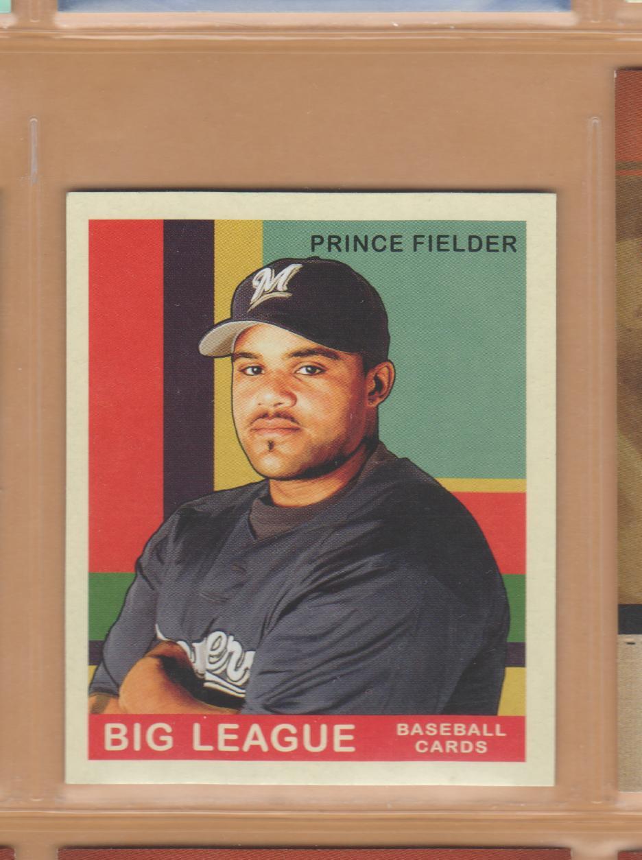 2007 Upper Deck Goudey Red Back Prince Fielder Brewers