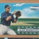 1999 Pacific Invincible Sandlot Heroes #19B Alex Rodriguez Mariners