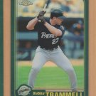 2001 Topps Chrome Traded Retrofractor Refractor Bubba Trammell Padres