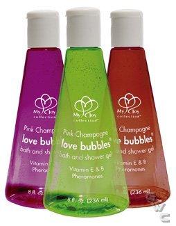 Love Bubbles 8oz Champagne Rain