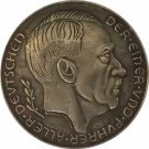 ww2 Germany 1938 Adolf Hitler Commemorative Medal Coin Great Piece