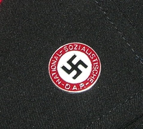 ww2 Germany NSDAP Swastika member lapel pin