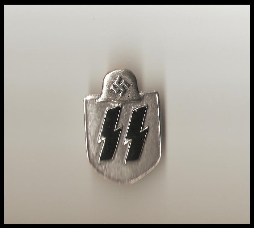 ww2 Germany SS Eastern Front Medal Badge