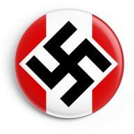 WW2 Nazi Germany Hitler Youth Swastika Lapel Pin Button