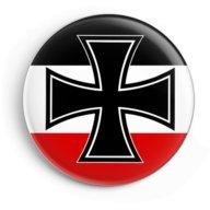 WW2 Nazi Germany Iron Cross Lapel Pin Button