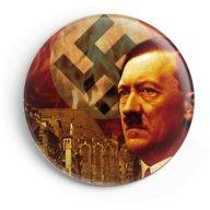 WW2 Nazi Germany Adolf Hitler Lapel Pin Button