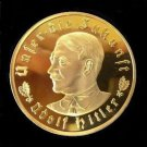 NEW 1933 WW2 Nazi Germany Adolf Hitler Swastika Commemorative Coin Medal