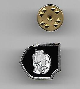 WW2 Nazi Germany 3rd Panzer Division SS Totenkopf Lapel Pin