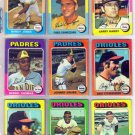 1975 TOPPS JOHNNY GRUBB #298 PADRES