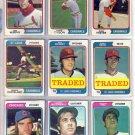 1974 TOPPS TOM MURPHY #496 CARDINALS