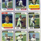 1974 TOPPS TRADED CRAIG ROBINSON #23T BRAVES