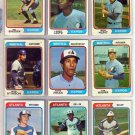 1974 TOPPS MIKE LUM #227 BRAVES