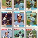 1974 TOPPS BOB STINSON #653 EXPOS