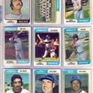 1974 TOPPS KANSAS CITY ROYALS #343 TEAM CARD
