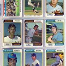 1974 TOPPS JERRY BELL #261 BREWERS
