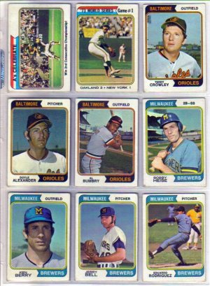 1974 TOPPS BOBBY HEISE #51 BREWERS