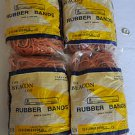 FOUR 1 LB. BAGS OF NEW BAGGED #64 RUBBER BANDS -- $5 Flat Shipping --
