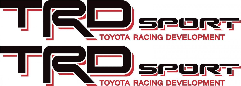 Toyota Trd Off Road Sport 4x4 Tundra Tacoma Truck Decal