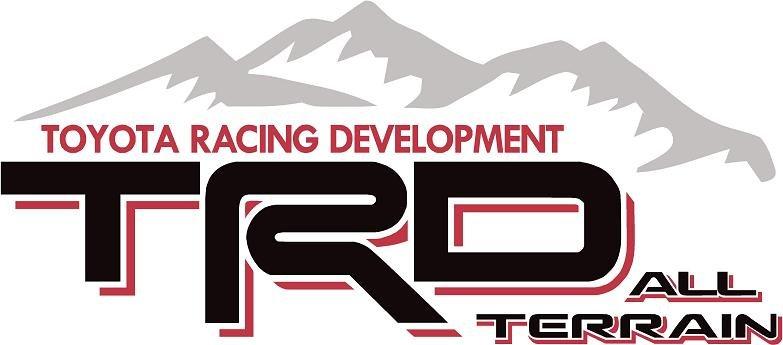 Tundra Sport Truck >> Toyota TRD All Terrain Mountain Off Road Sport 4x4 Tundra/Tacoma Truck Decal/StickerX2