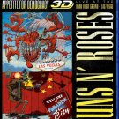 Guns N' Roses Appetite For Democracy 3D Live At The Hard Rock Casino Blu-Ray