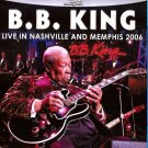 B.B. King Live In Nashville And Memphis 2006 Blu-Ray