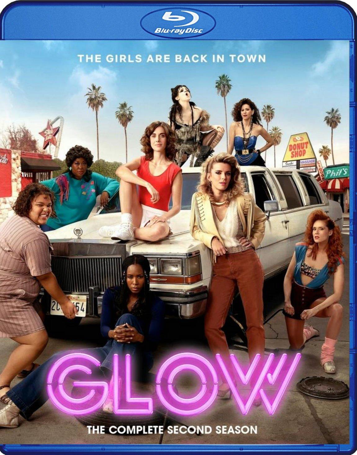 GLOW Blu-Ray [2018] The Complete Season 2