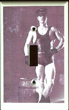 Gay Leather Man Circa 1970's Switchplate Cover