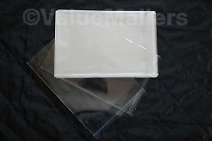 1000 5x7 1.5 MIL Self Seal Lip & Tape Clear Poly Bags Valuemailers Brand OPP BAG