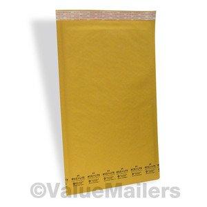50 #6 12.5x19 Kraft ^ Bubble Mailers Padded Envelopes