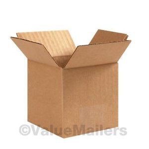 200 Box 100 each 4x4x4, 6x6x4 Shipping Packing Mailing Moving Corrugated Carton