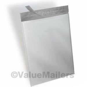 200 10x13, 25 9x12 Poly Mailers Self Seal Plastic Bags Envelopes 10 x 13