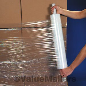 "18"" x 1500'  Shrink Wrap Stretch Banding Film 90 Gauge"